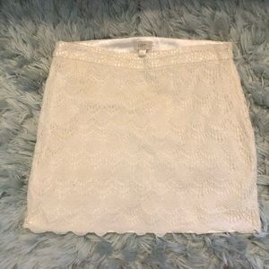 Loft 2 layer short skirt